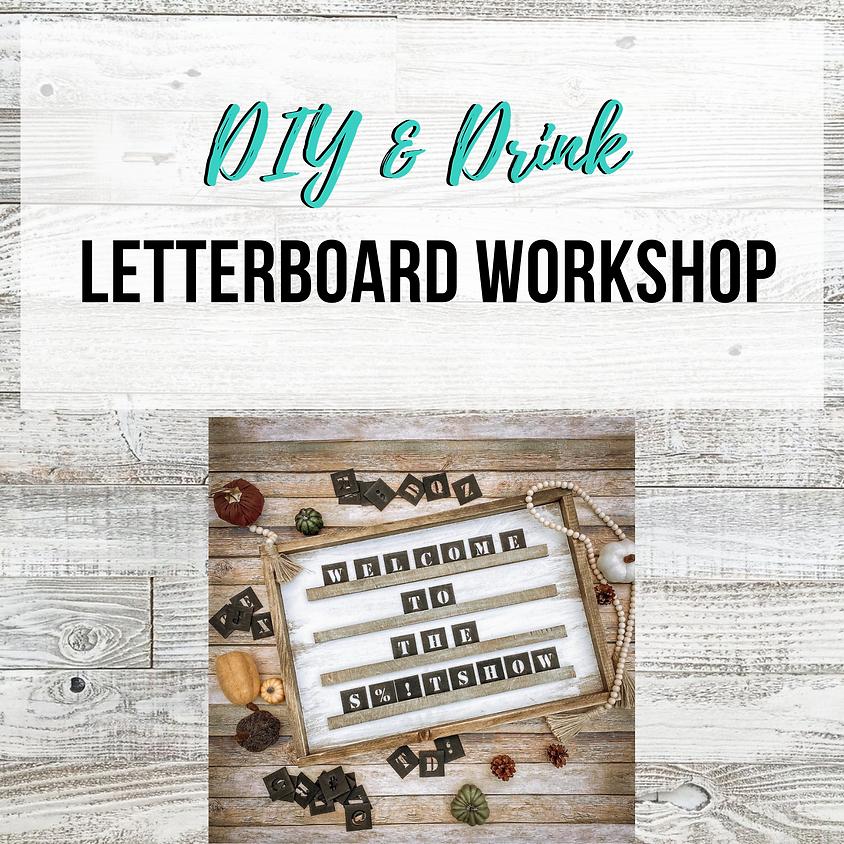 D.I.Y. Letterboard Workshop