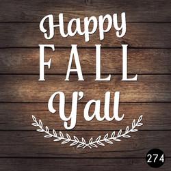 274 FALLY YALL