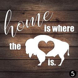 5 HOME HEART BUFFALO