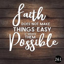261 FAITH