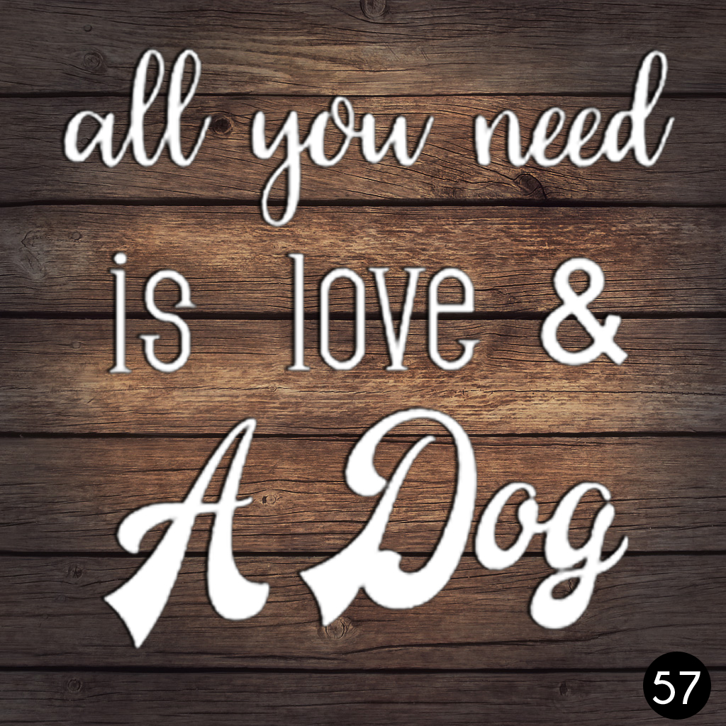 57 LOVE AND DOG