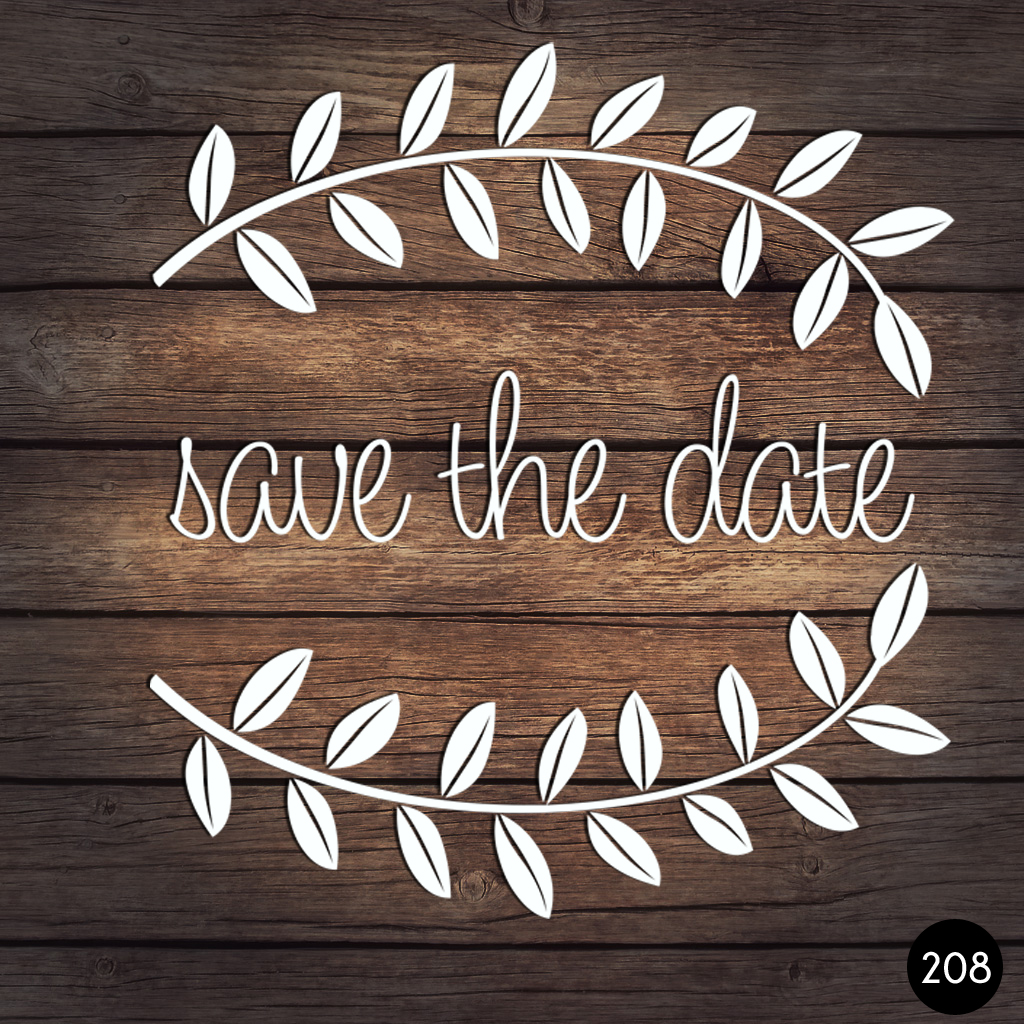 208 SAVE THE DATE