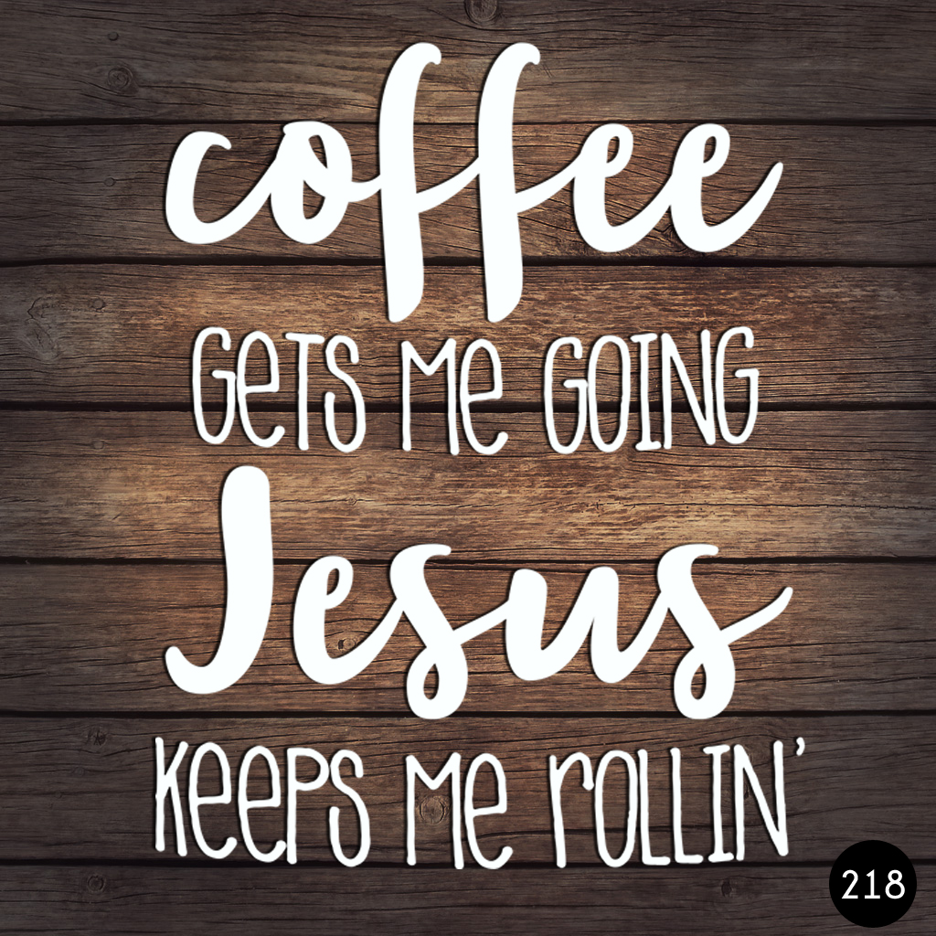 218 COFFEE JESUS
