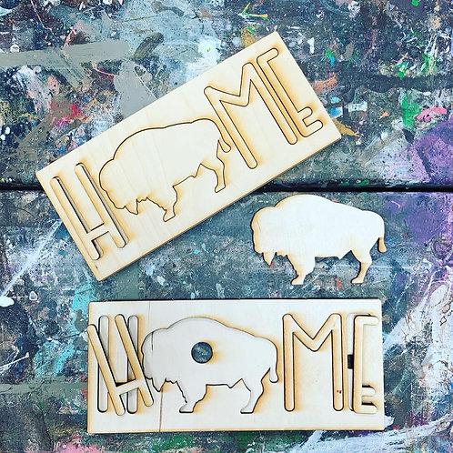 HOME Buffalo Puzzle