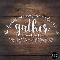 322 GATHER