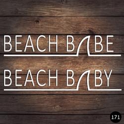 171 BEACH BABY