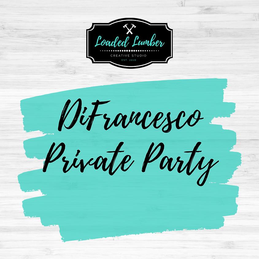 DiFrancesco, Private Party