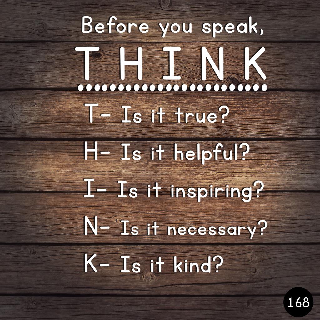 168 THINK