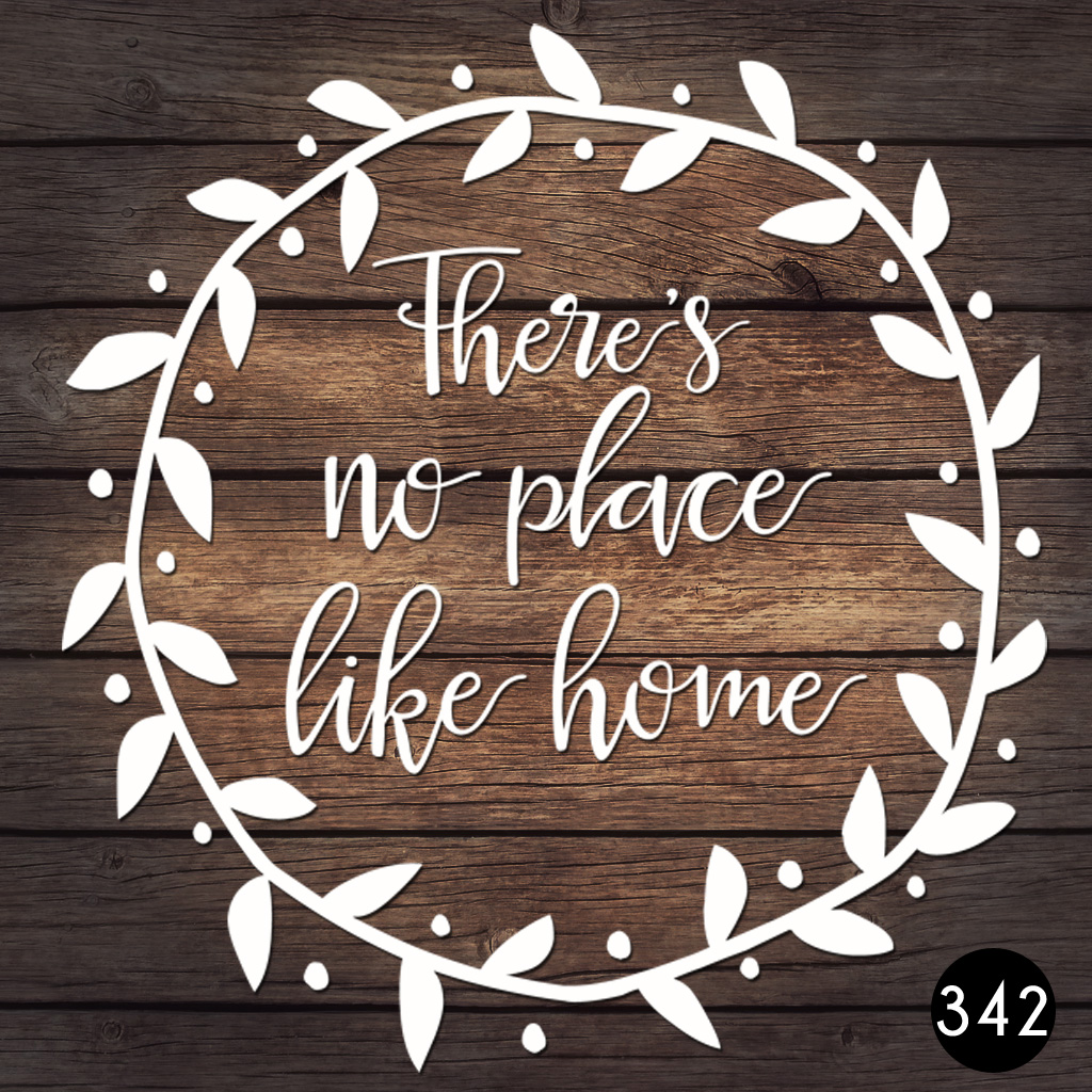 342 HOME WREATH