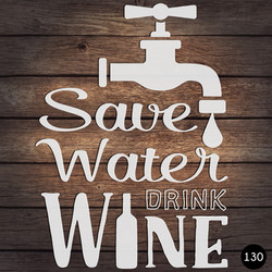 130 SAVE WATER