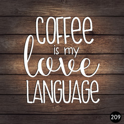 209 COFFEE LOVE LANGUAGE