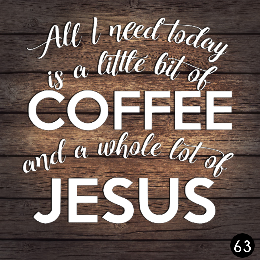 63 COFFEE JESUS