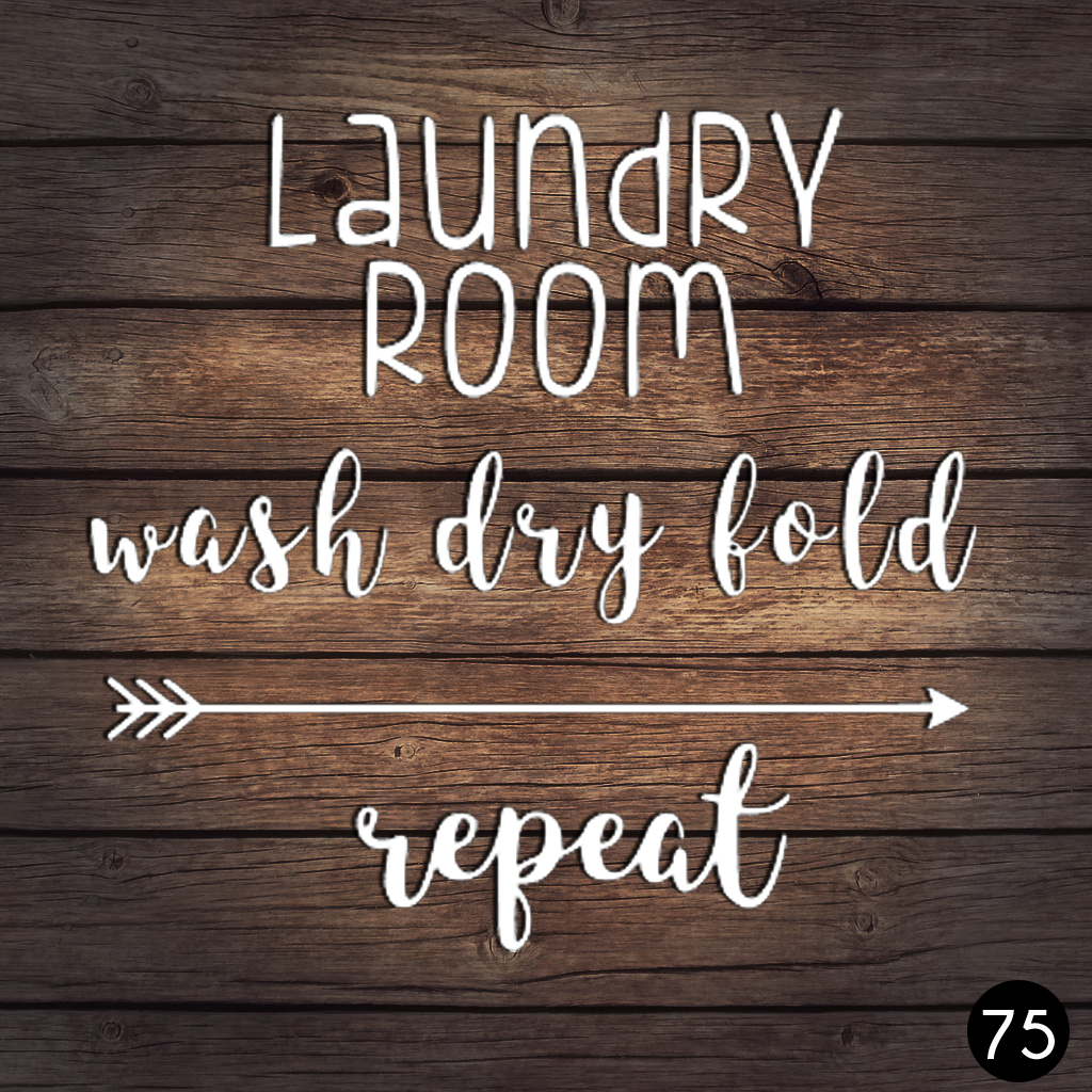 75 LAUNDRY ROOM