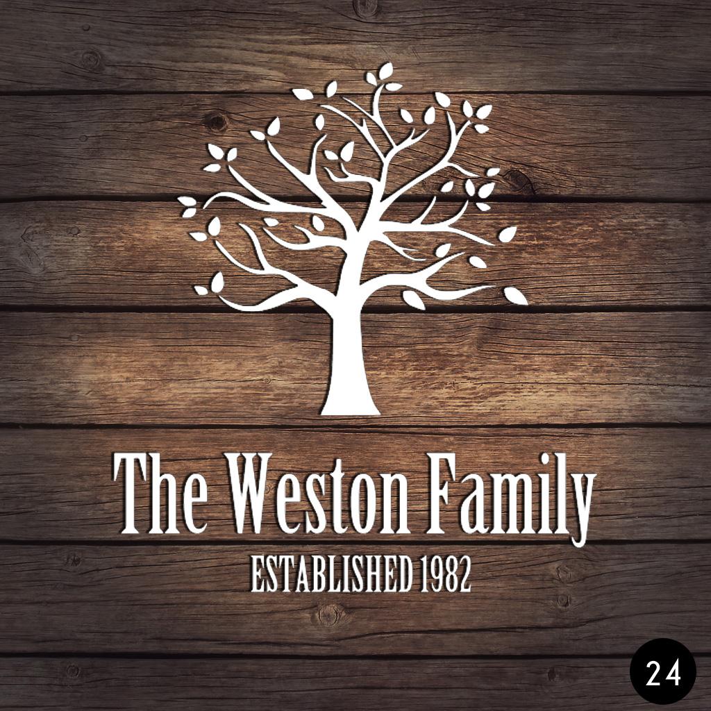 24 FAMILY TREE