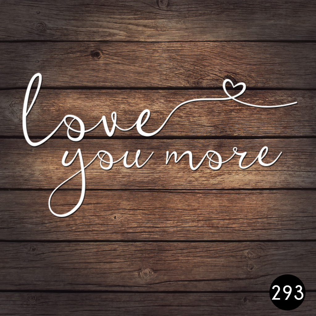 293 LOVE YOU