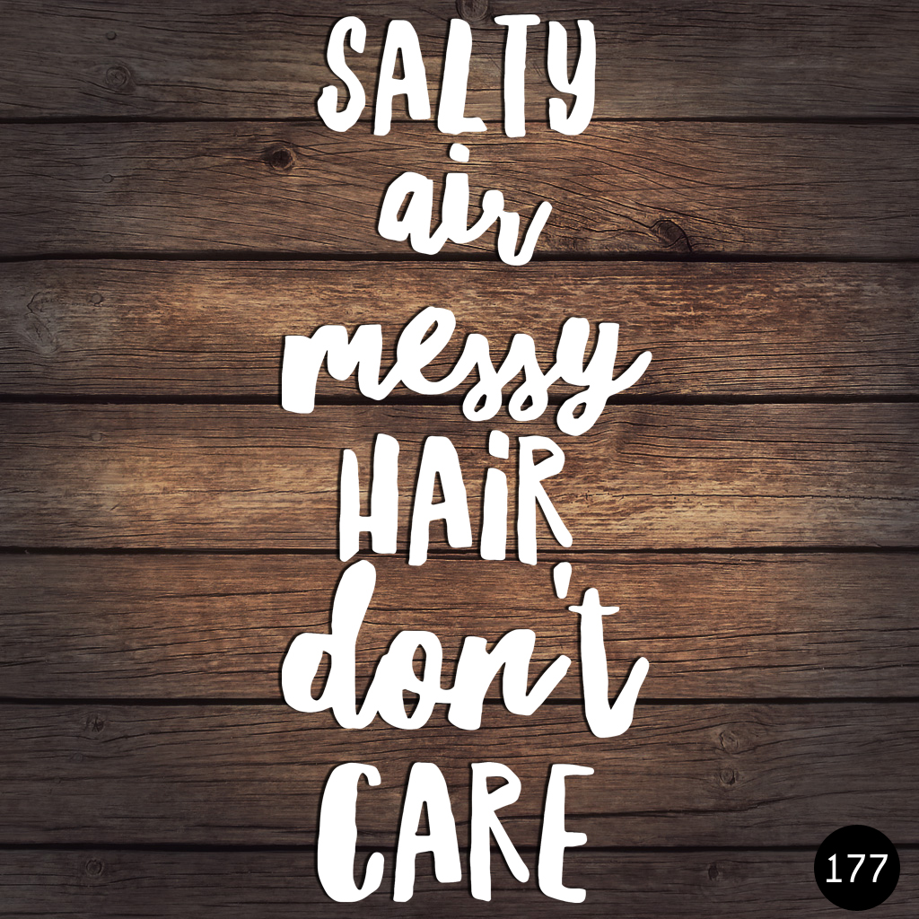177 MESSY HAIR