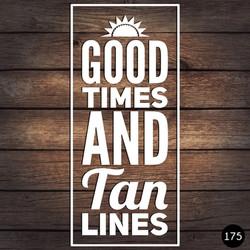 175 GOOD TIMES