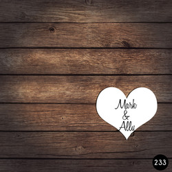 233 HEART NAMES