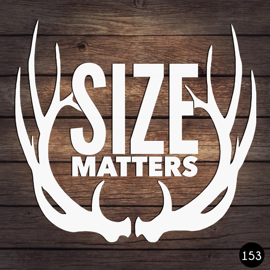 153 SIZE MATTERS