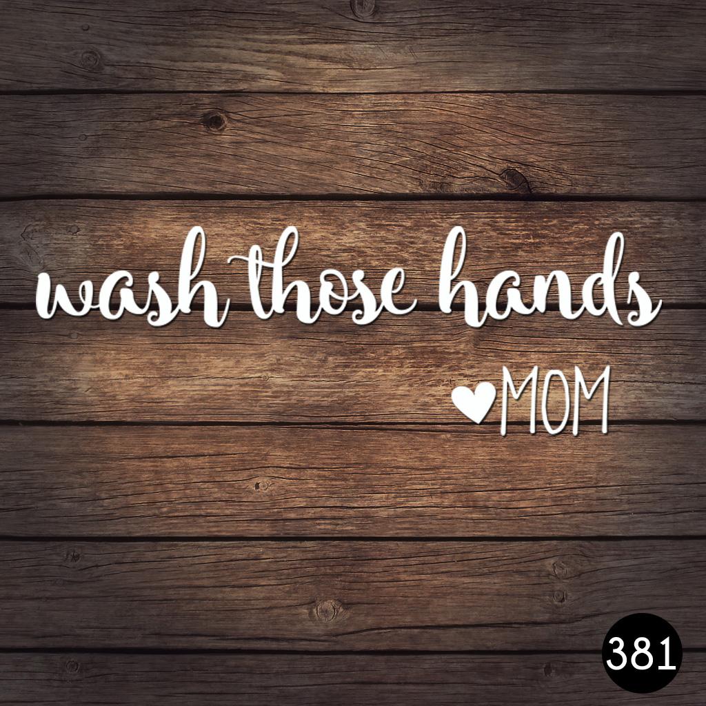 381 WASH