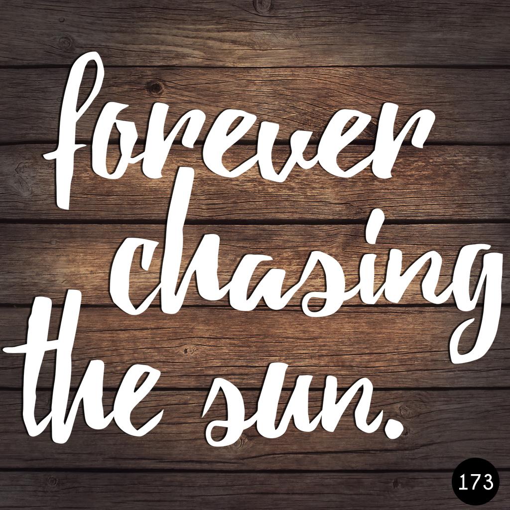 173 CHASING SUN