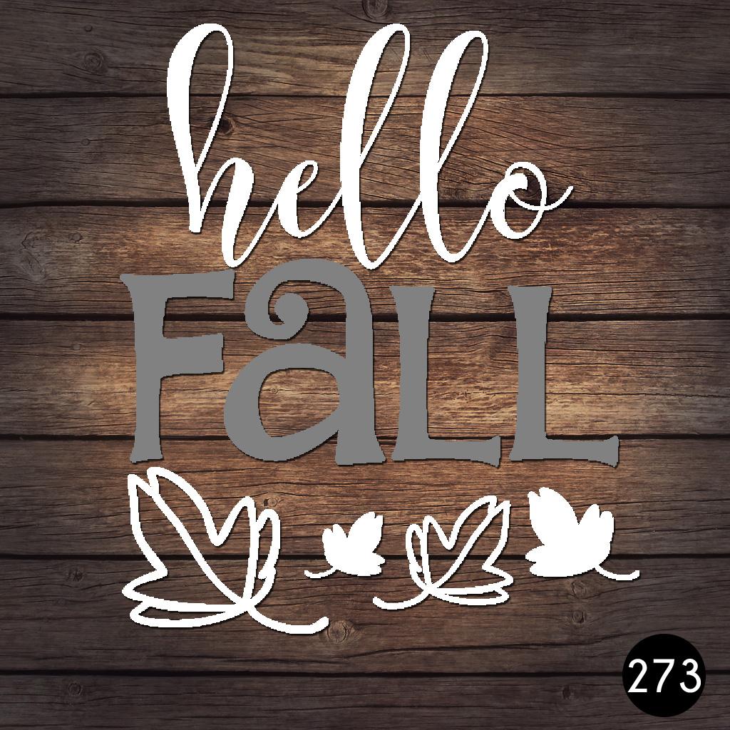 273 HELLO FALL