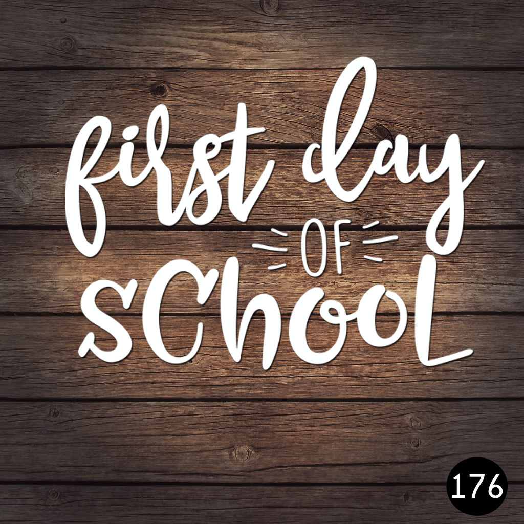 176 FIRST DAY