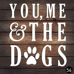 56 YOU ME DOGS