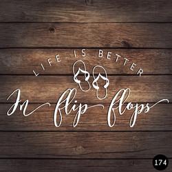 174 FLIP FLOPS
