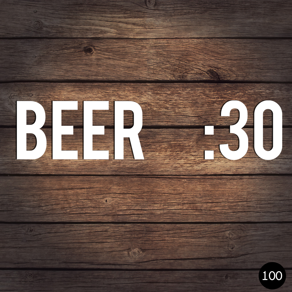 100 BEER 30