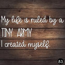83 TINY ARMY