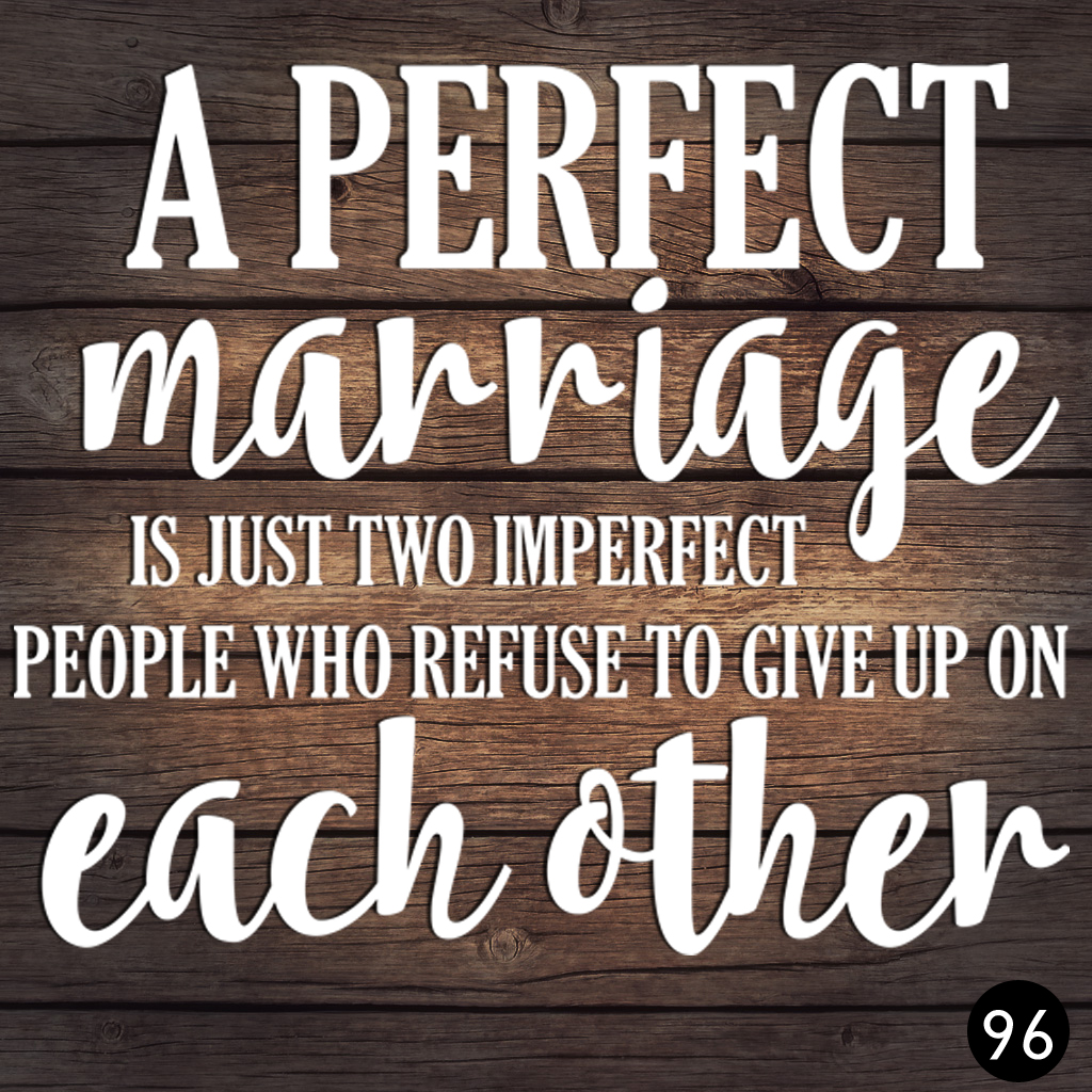 96 PERFECT MARRIAGE