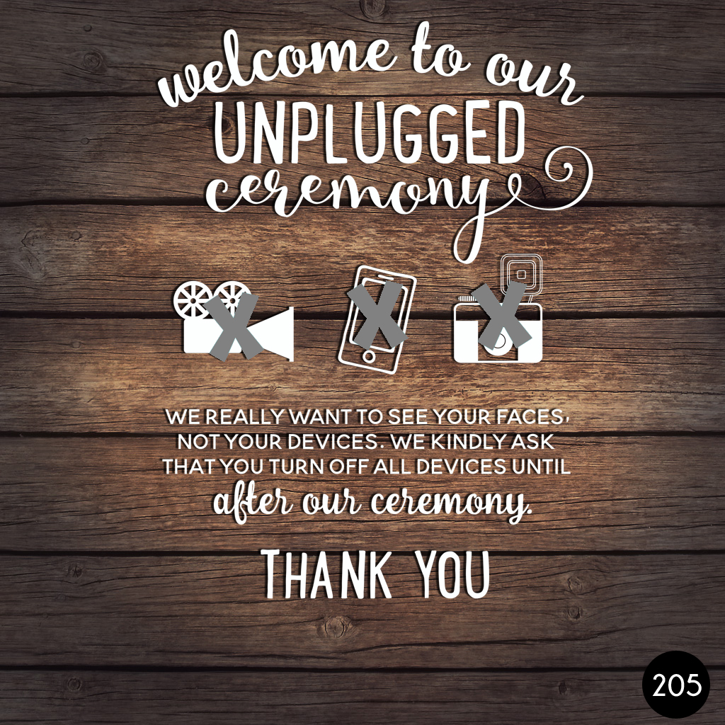 205 UNPLUGGED