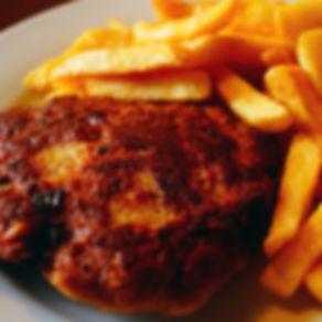 Frkadelle_mit_Pommes - Grill Bazar Krefe