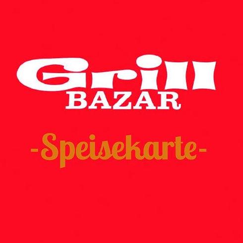 Grill Bazar Speisekarte Cover