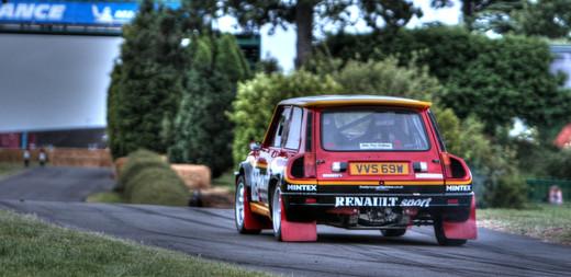 Andrew Cooper Renault 5 Turbo