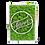 "Thumbnail: Islandmoosbild ""Forever"" 35x25x5,5 Maigrün"