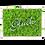 """Thumbnail: Islandmoosbild """"Glück"""" 35x25x5,5 Maigrün"""