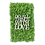 "Thumbnail: Islandmoosbild ""Do all things with love"" 50x30 Grasgrün"