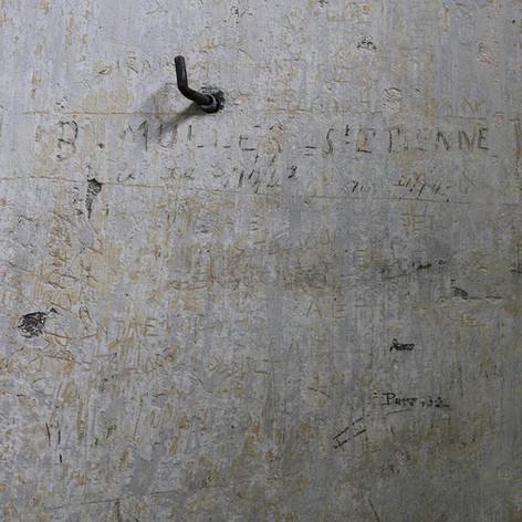 Graffiti des prisonniers de la seconde guerre mondiale