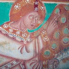 Restauration des peintures murales du choeur de la chapelle Santa Cristina, Haute-Corse