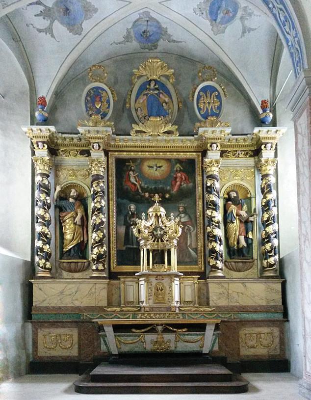 Restauration du Maître-autel de l'église Saint Pierre & Saint Paul