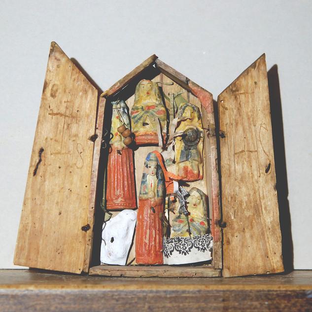 Remontage et restauration de trois ex-votos dédiés à Sainte-Reine