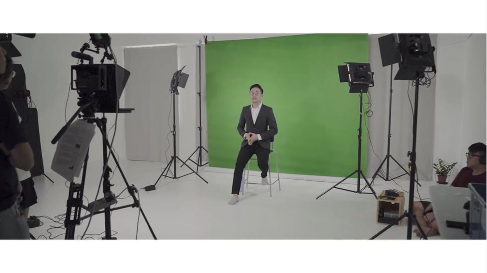 Fairy Park 2019 Newscaster Informative Videoshoot (BTS) feat Hai Chyi