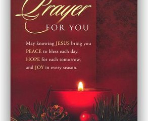 A Christmas Prayer!