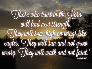 The Benefits of Trusting God!