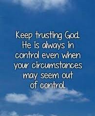 Tuesday Morning Inspiration - Trust God!