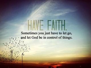 Monday Morning Inspiration - Faith!