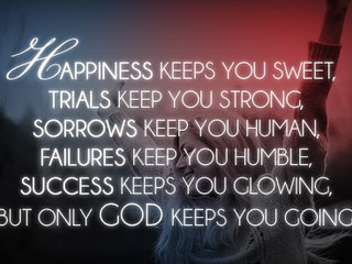 God Will Keep You!