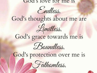 God's Love for Me!